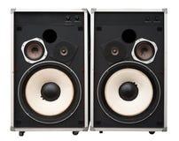 Old hi end speakers Stock Image