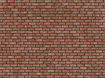 Old hi-res red small brick wall pattern Royalty Free Stock Images