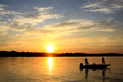 OLd Hickory Sunset Royalty Free Stock Photography