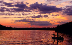 OLd Hickory Sunset Stock Images