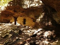 Moonshiners cave Royalty Free Stock Images