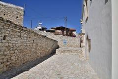 Old highland Lefkara village in Republic of Cyprus stock photo