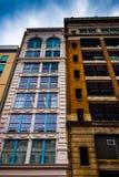 Old highrises in downtown Philadelphia, Pennsylvania. royalty free stock photos