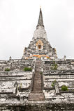 Old and hight pagoda Stock Images