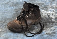 Old Hiking Boot Stock Images