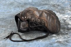 Old Hiking Boot Royalty Free Stock Photo