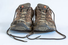 Old Hiking Shoes Stock Photos