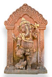 Old Hindu God Ganesh sculpture Stock Image