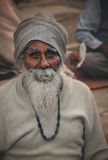 Old Hindu man Royalty Free Stock Photography