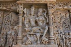 Old Hindu Sas-Bahu Temple in Rajasthan, near Udaipur, India. Royalty Free Stock Image