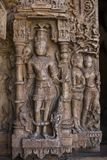 Old Hindu Sas-Bahu Temple in Rajasthan, near Udaipur, India. Stock Photo