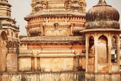 Old hindu temples Stock Images