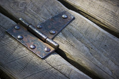 Old Hinge Stock Photo