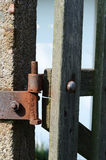 Old hinge Royalty Free Stock Photography