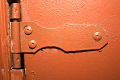 Old hinge Royalty Free Stock Images