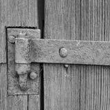 Old iron hinge royalty free stock photos