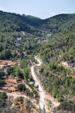 Old hippy valley and commune of San Carlos on Ibiza in Mediterra Royalty Free Stock Photos