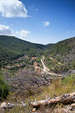 Old hippy valley and commune of San Carlos on Ibiza in Mediterra Stock Images