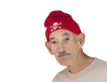 Old Hispanic Man Stock Photo