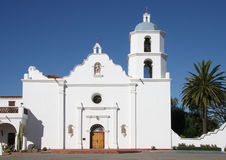 Old Hispanic Mission. Old Church in the New World Royalty Free Stock Images