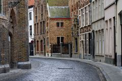 Old historic architecture of Brugge Stock Photo