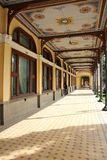 Old historic baroque abandoned building -  Baile Herculane CAsino stock photos
