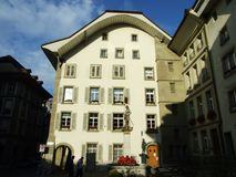 Old Historic Building in the city center of Bern stock images