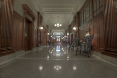 Old Historic Building Hallway Royalty Free Stock Images