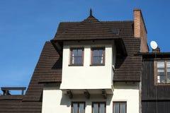 Old historic buildings in town Kazimierz Dolny, Poland Stock Photos