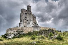 Old and historic castle Stock Photography
