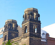 Old historic church in Chinatown neighborhood of Washington DC. Royalty Free Stock Photography
