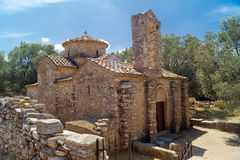 Old historic church at Crete island, Greece Stock Image
