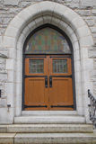 Old Historic Church Doors Stock Photography