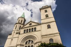 Old historic church in Germany Stock Photos