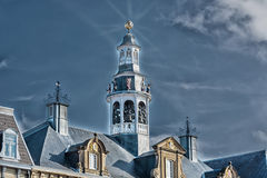 Old historic church spire Royalty Free Stock Photo