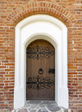 Old Historic Decorated Doors Royalty Free Stock Photography