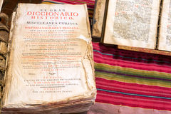 Old Historic Dictionary Royalty Free Stock Images