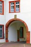 Old historic gate. In small city Saarburg, Rheinland-Pfalz, Germany, evening, summer Stock Photography