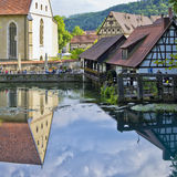 Old Historic Hammer Forge, Blaubeuren, Germany Royalty Free Stock Images