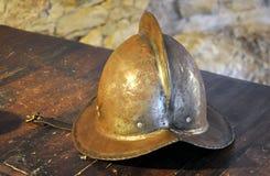 Old historic helmet Stock Photography