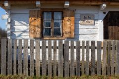 Old historic house foto atelier Royalty Free Stock Photography