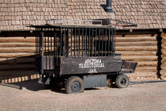 Old Historic Jail Wagon Royalty Free Stock Photography