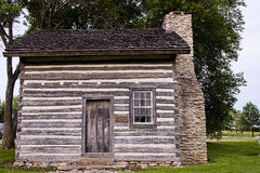 Old historic log cabin Stock Photography