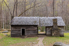 Old historic log cabins Stock Image