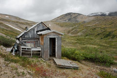 Old historic mining shack Royalty Free Stock Photo