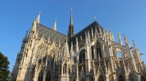 Old Historic Neo Gothic Votiv Church Stock Images