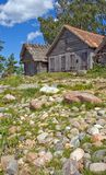 Old historic net-sheds in Altja, Estonia Stock Photos