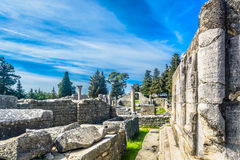Old historic ruins in Croatia. Stock Photos