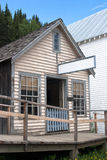 Old historic saloon. Vintage saloon from 1800s in historic town Stock Photos