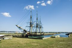 Old historic ship Royalty Free Stock Photos
